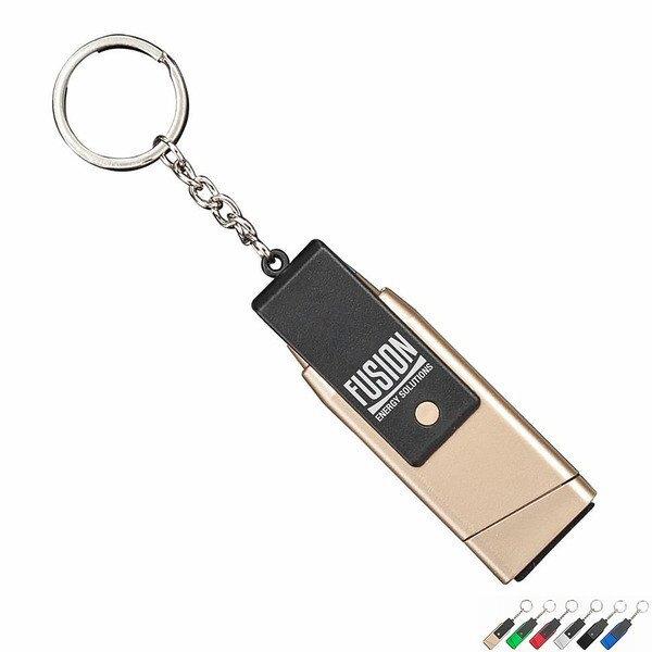 Einstein 6-in-1 Tech Tool Keychain w/ Phone Stand