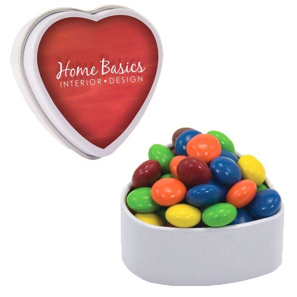 Small Heart Tin w/ Chocolate Littles