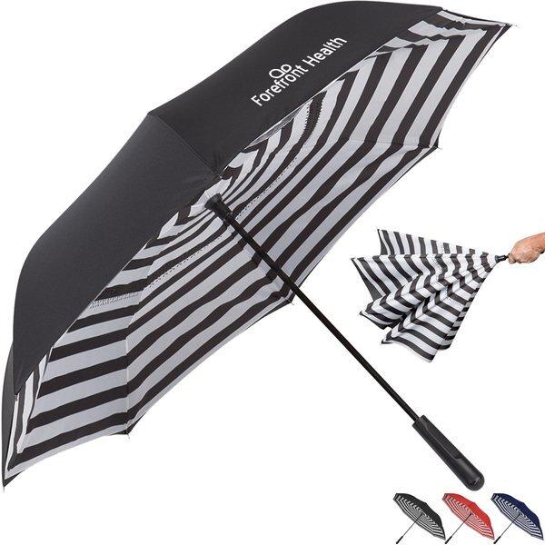 """Blanc Noir Inversion Umbrella, 48"""" Arc"""