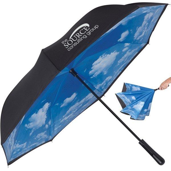 """Blue Skies Inversion Umbrella, 48"""" Arc"""