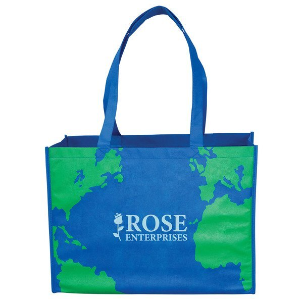Earth Non Woven Tote Bag