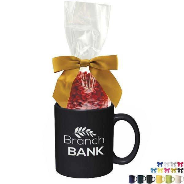 Ceramic Mug w/ Red Hots, 11oz.