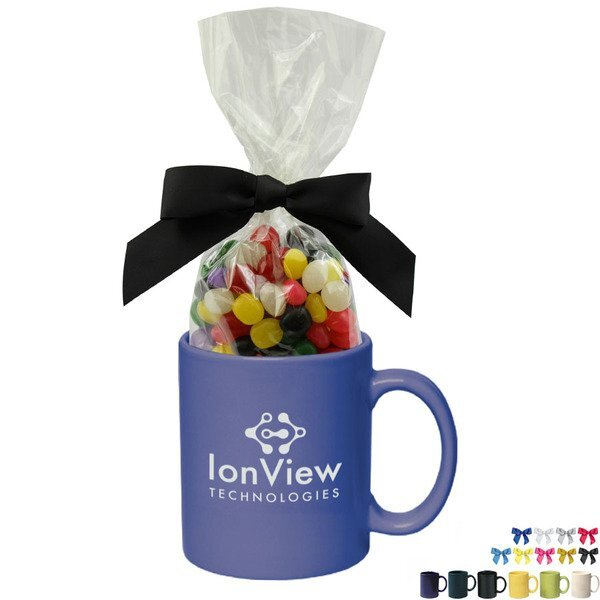 Ceramic Mug w/ Jelly Beans, 11oz.