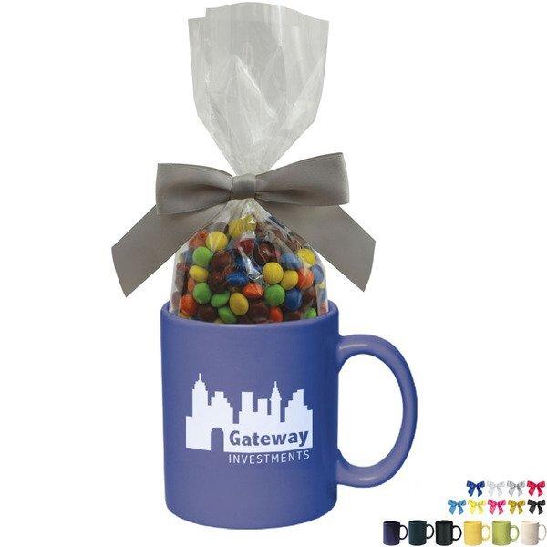 Ceramic Mug w/ Chocolate Littles, 11oz.