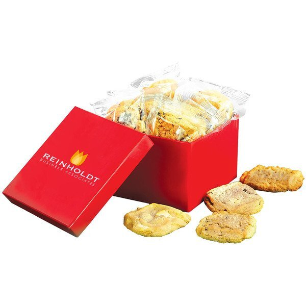Dozen Cookies Box w/ Full Color Imprint