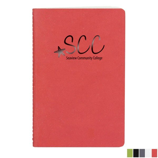 "ApPeel® Pico Saddlestitched Journal, 3-11/16"" x 5-5/8"""