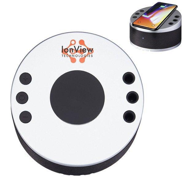 LYNQ Multifunction Wireless Charging Pad, Speaker & Desk Hub