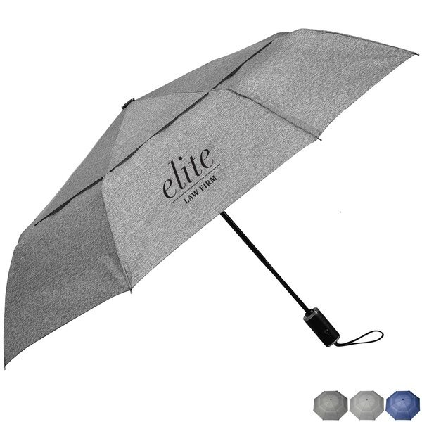 "Cutter & Buck® Auto Open/Close Vented Umbrella, 46"" Arc"