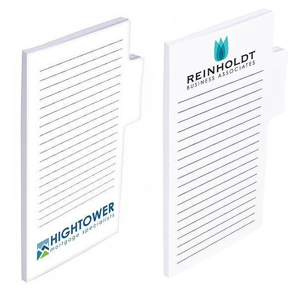 """BIC® Memo Tab™ Adhesive Notepad, 4"""" x 6"""", 25 Sheets"""