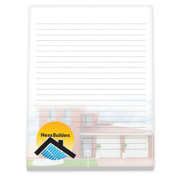 """BIC® Non-Adhesive Scratch Pad, 8-1/2"""" x 11"""", 25 Sheets"""
