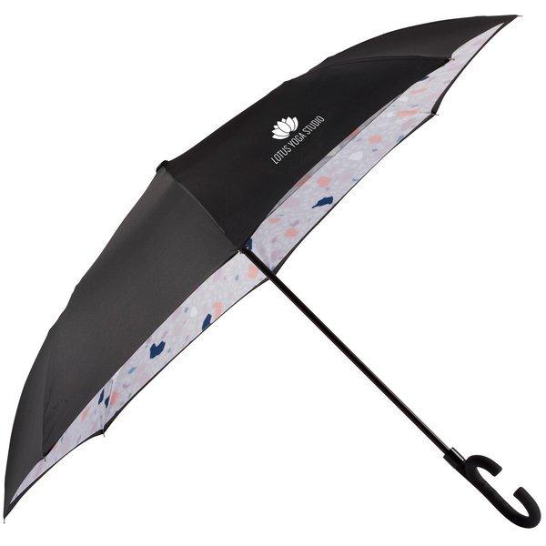 """Confetti Auto Open Designer Inversion Umbrella, 48"""" Arc"""