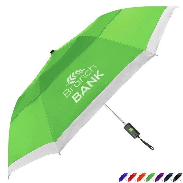 """Bellevue Vented Lifesaver Umbrella, 42"""" Arc"""
