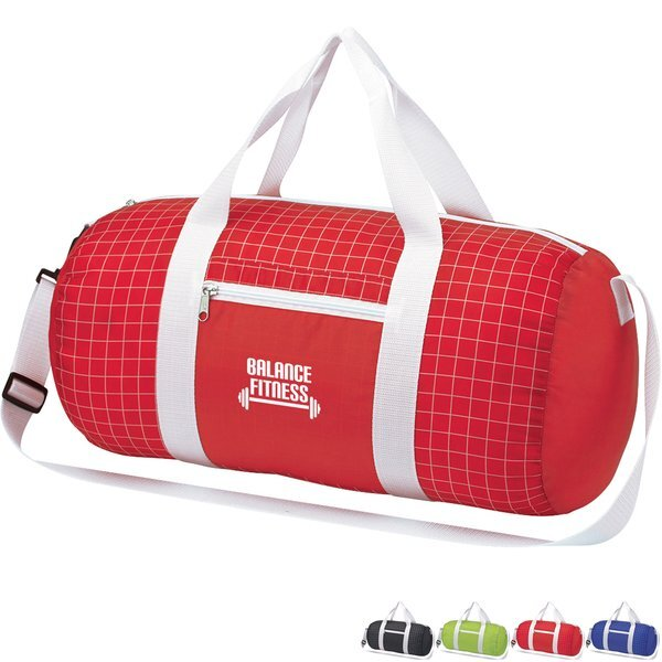 Cross Check Polyester Duffel Bag