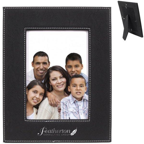 "Alba Leatherette Photo Frame, 5"" x 7"""