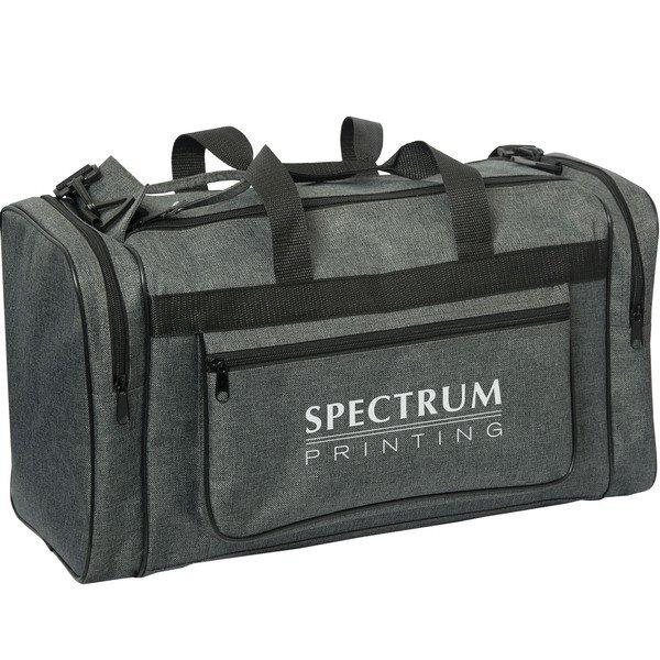 Circuit Classic 600D Heathered Gray Sports Bag