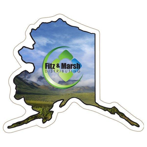 Alaska State Shaped Magnet