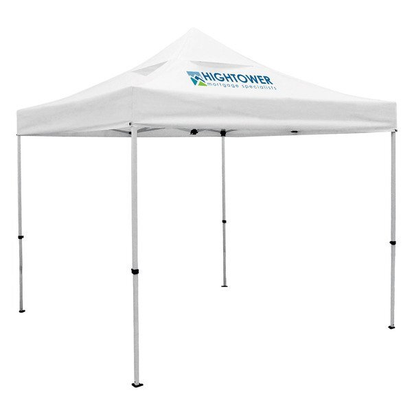 Showstopper™ Deluxe 10' Tent w/ Vented Canopy, One Location Full Color Imprint