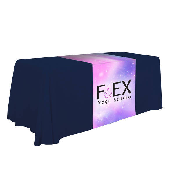 "Standard Table Runner, 28"" - Full Color Full Bleed"