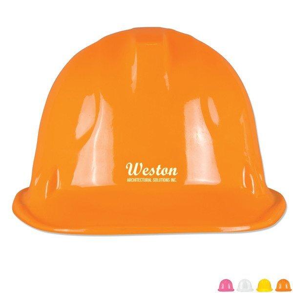 Novelty Plastic Construction Hat