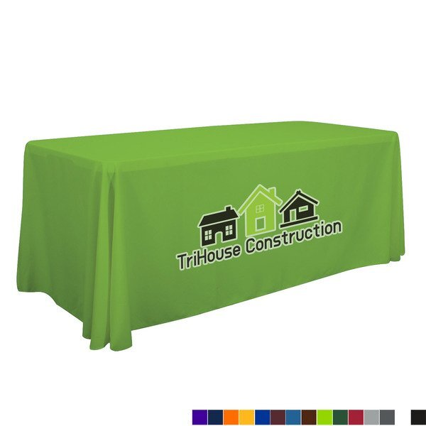 Economy Table Throw, 6' - Full Color Front