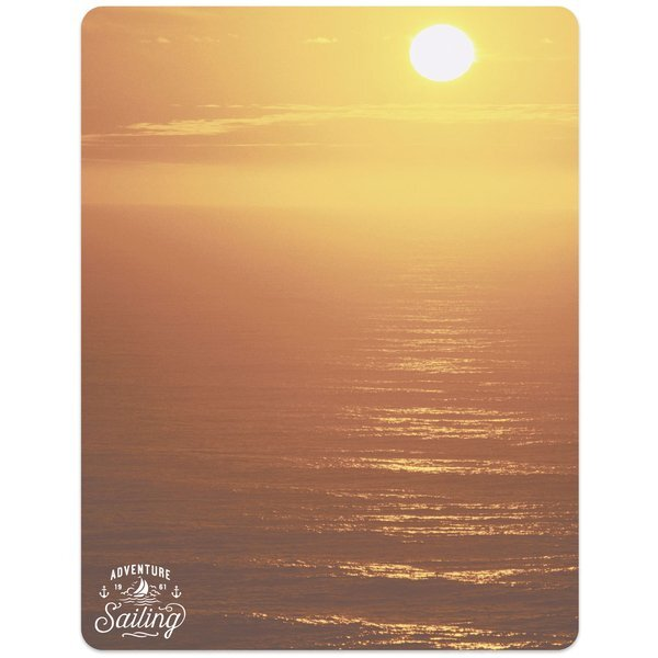 "Sunset Memo Board w/ Magnet, 8-1/2"" x 11"""