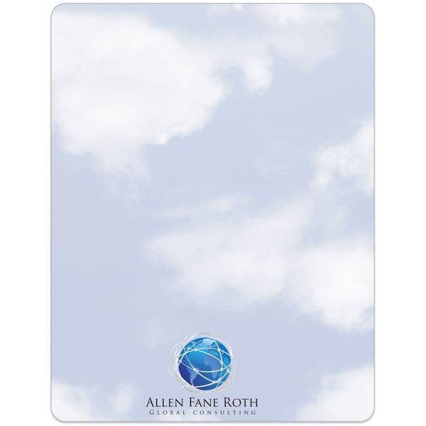 """Clouds Memo Board w/ Magnet, 8-1/2"""" x 11"""""""