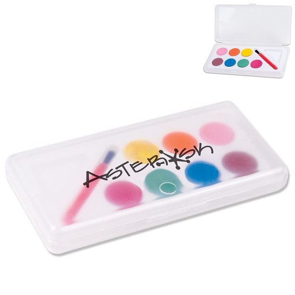 Seven Color Watercolor Paint Set