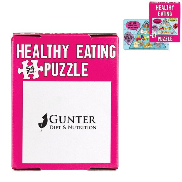 Mini Healthy Eating Puzzle, 54 Pieces