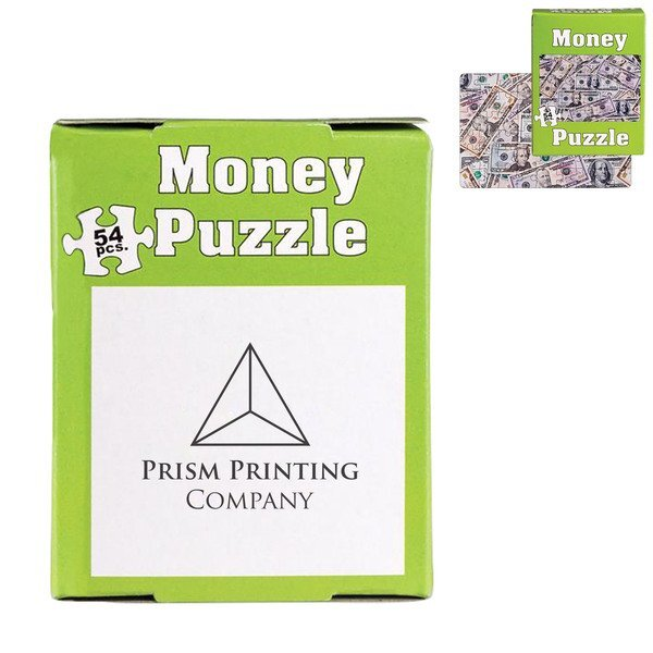 Mini Money Puzzle, 54 Pieces