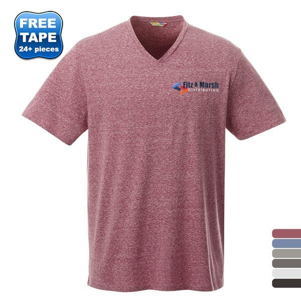 Canyon Men's Triblend V-Neck Tee