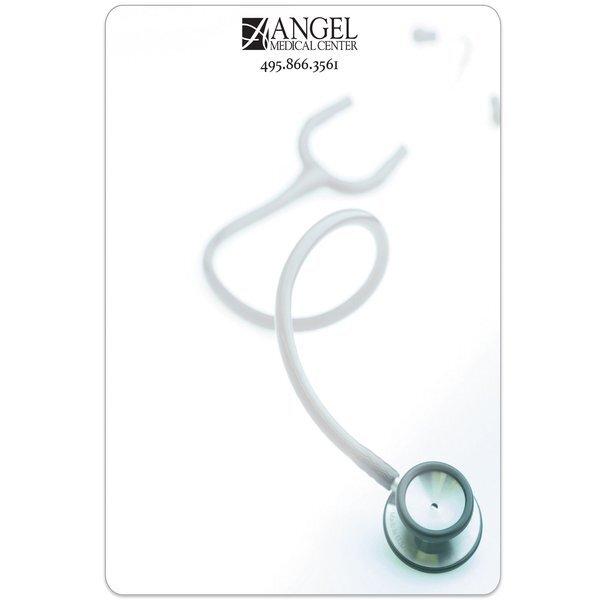 "Stethoscope Memo Board w/ Magnet, 5-1/2"" x 8-1/4"""