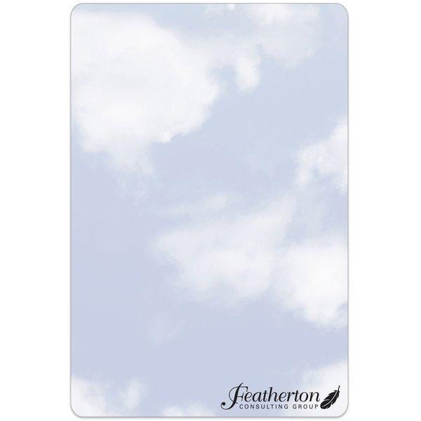 """Clouds Memo Board w/ Magnet, 5-1/2"""" x 8-1/4"""""""