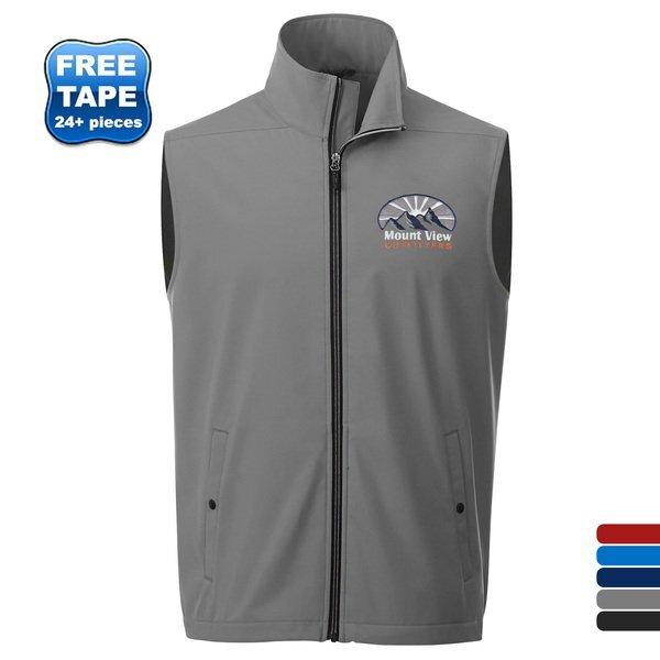 Warlow Men's Sporty Softshell Vest
