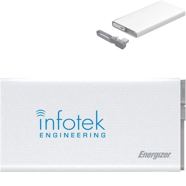 Energizer® Dual Output Power Bank, 10000mAh