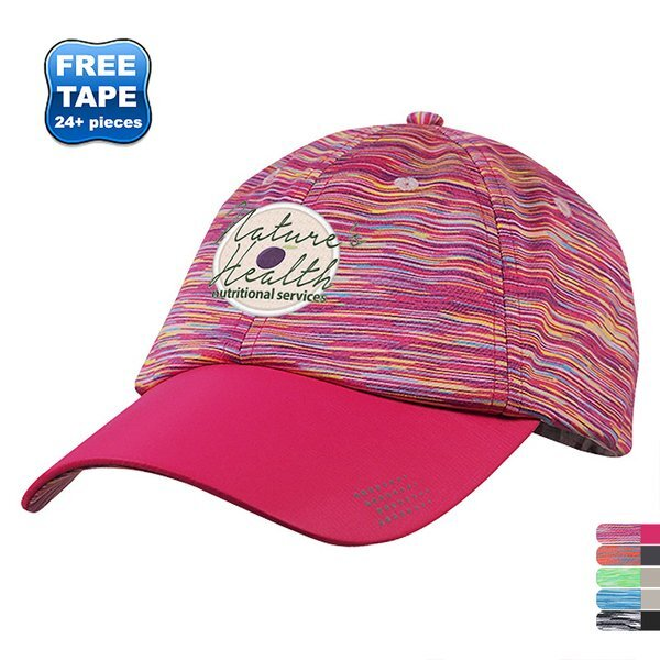 High Performance Unconstructed Moisture Wicking Sport Cap