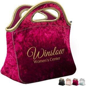 Klutch Velvet Neoprene Lunch Bag
