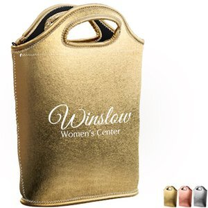Venti Metallic Neoprene Lunch Bag