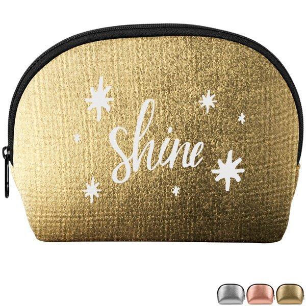 Cosmo Cutie Metallic Neoprene Cosmetic Bag