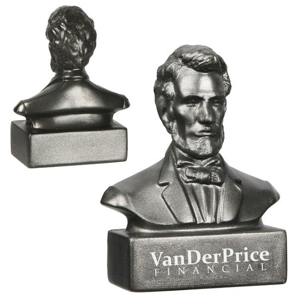 Abraham Lincoln Bust Stress Reliever