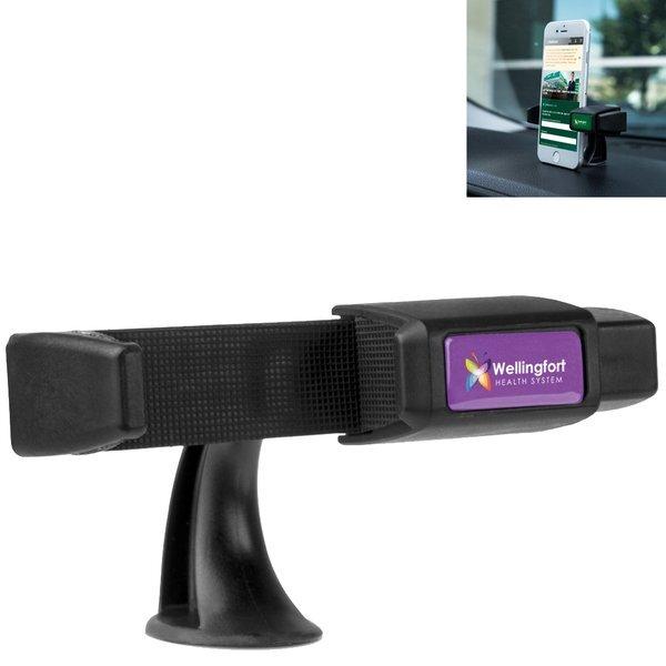 Clip-IT Dashtop Mount Phone Holder w/ Full Color Imprint
