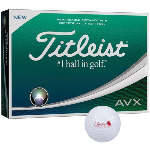 Titleist® AVX® Golf Balls, 12 Ball Box