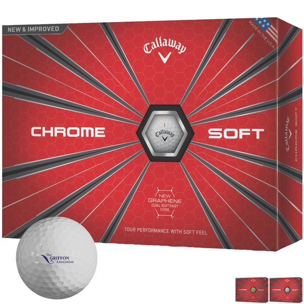 Callaway® Chrome Soft, 12 Ball Box