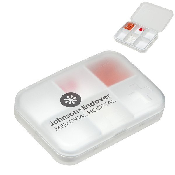 Easy-Carry 6 Compartment Pillbox