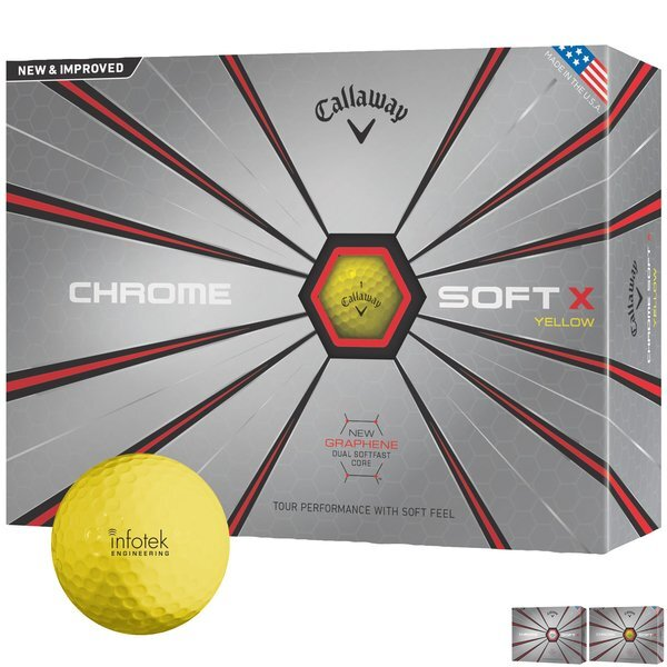 Callaway® Chrome Soft X, 12 Ball Box