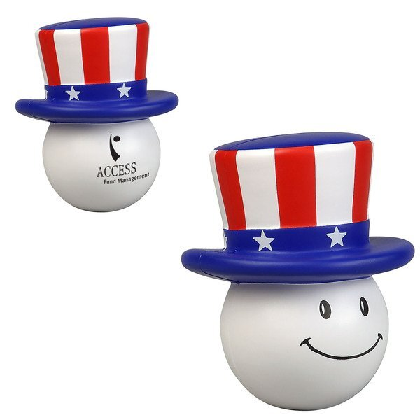 Patriotic Mad Cap Stress Reliever
