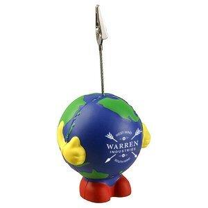 Earthball Man Stress Reliever Memo Holder