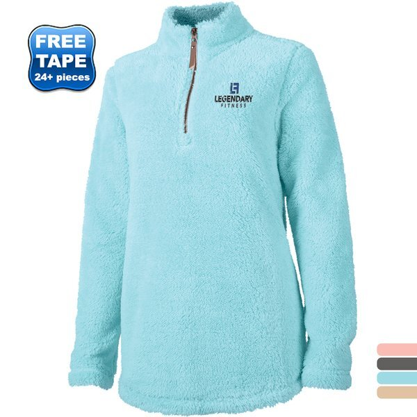 Charles River® Newport Ladies' Super Soft Quarter Zip Fleece Pullover