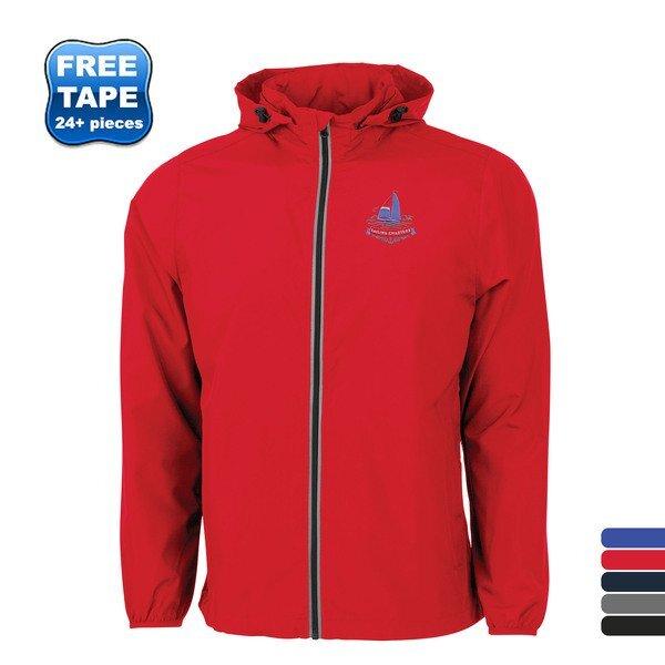 Charles River® Pack-N-Go Unisex Full Zip Reflective Jacket