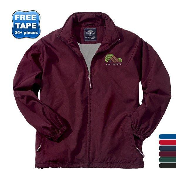 Charles River® Triumph Lightweight Unisex Rain Jacket