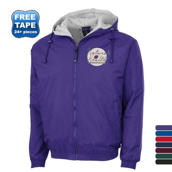 Charles River® Enterprise Unisex Rain Jacket with Heavyweight Fleece Lining